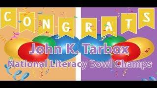 Tarbox Literacy Bowl Champions