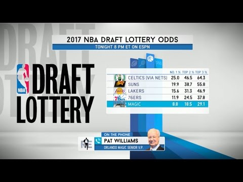 Orlando Magic Exec Pat Williams Talks NBA Draft Lottery, LaVar Ball, and Much More - 5/16/17
