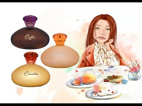 "Парфюмы от Sergio Nero: ""Coffee"", ""Cappuccino"" и ""Chocolate"""
