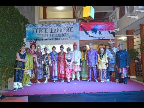 Wisma Bahasa Indonesian Course - Malam Indonesia 2015: Menyusuri Indonesia