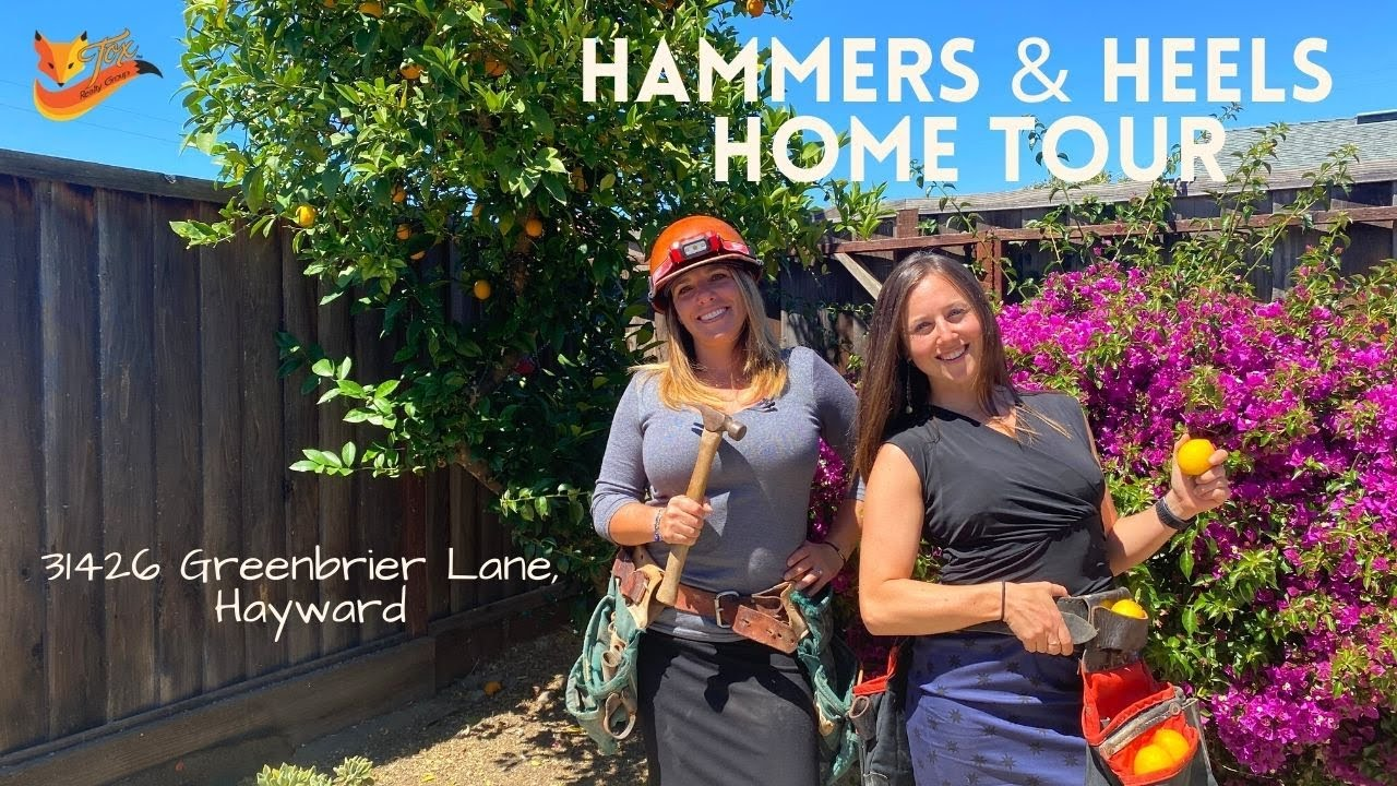 Hammers & Heels Home Tour: 31426 Greenbrier Lane, Hayward