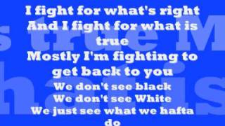 Brian McKnight Ft Rascal Flatts RED WHITE AND BLUE