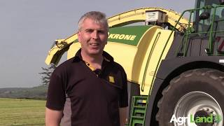 青贮饲料2019:Agriland赶上Alfie Byrne的新Krone Big X 530
