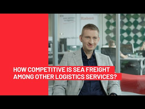 Is sea freight competitive? || Raben Group 🚛