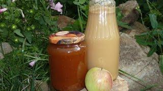 Как из ведра яблок одновременно сделать сок и повидло