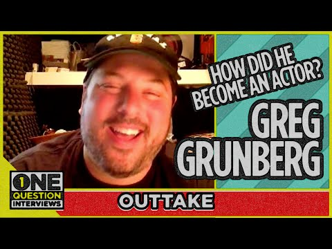 Outtake: How did Greg Grunberg decide to become an actor?