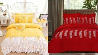Top Class Designers Bed Sheet Design / Bridal Bed Sheet Design Ideas /Royal Bed Sheet