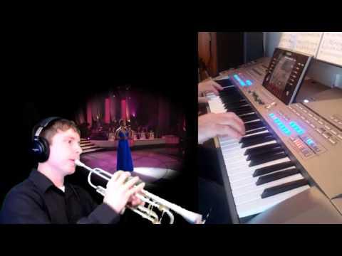 Gustave Van Doren speelt voor ons   Lullaby Birdland Yamaha Tyros 5