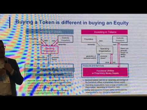 Buying a token is different from buying an equity.