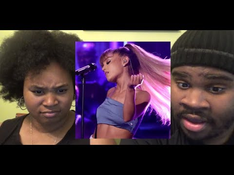 ARIANA GRANDE - SIDE TO SIDE LIVE (JIMMY FALLON) - REACTION