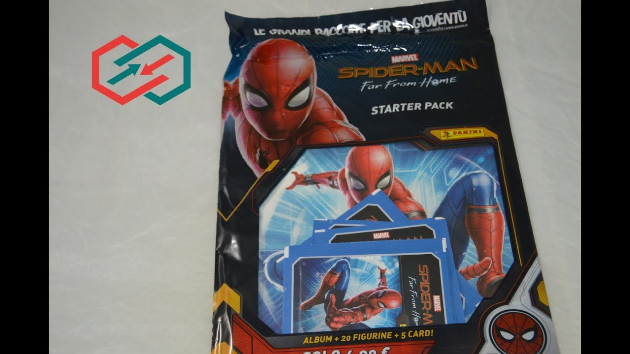22 Stickers /& 4 Cards Panini Marvel Spider-Man Far from Home Album Starter Pack