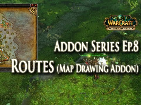Addons EP.8 - Routes (Map Drawing) Addon Guide: How to Setup Routes for Mining & Herbalism!