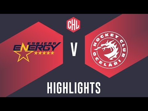 Highlights: Esbjerg Energy vs. Oceláři Třinec