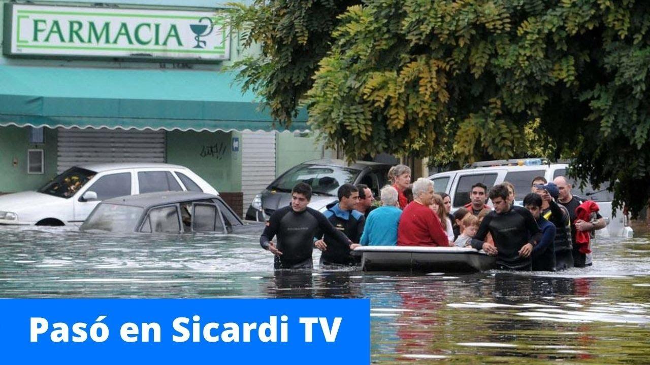 Por el aniversario de las inundaciones en La Plata, leemos un cuento de Omari Gimenez, Torrencial