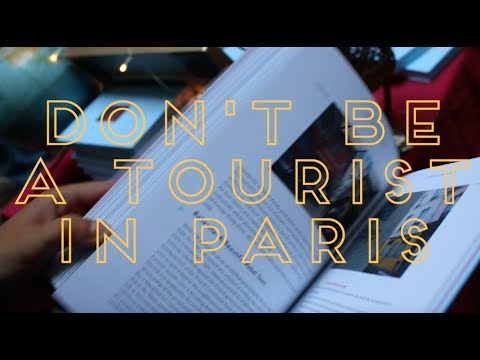 """Don't Be a Tourist in Paris"" Book Party"