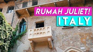 BEGINILAH PENAMPAKAN RUMAH JULIET DI ITALIA! | VERONA ITALY PART 2 | REZZVLOG
