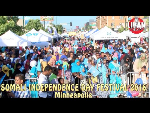 SOMALI INDEPENDENCE DAY FESTIVAL Minneapolis  2016