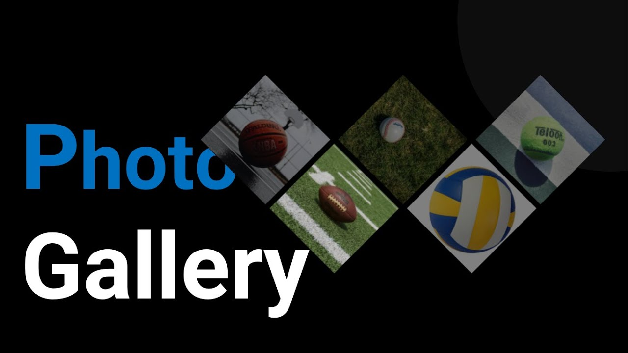 Create stunning Photo Gallery Using Html and CSS