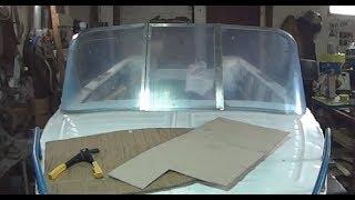 Сделал стекло для лодки