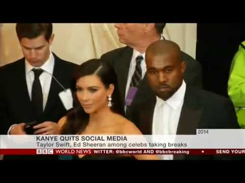 Kanye West quits social media Mp3