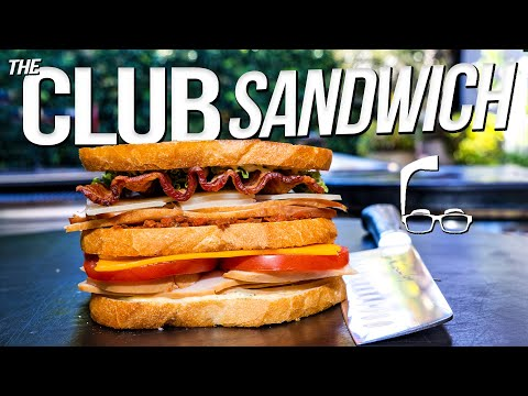 THE LEGENDARY CLUB SANDWICH | SAM THE COOKING GUY 4K