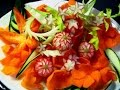 Video Bagus Buat Belajar Cara Membuat Garnish Berbentuk Bunga Dari lombok