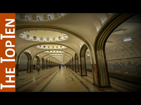 The Top Ten Most Beautiful Moscow's Metro Stations