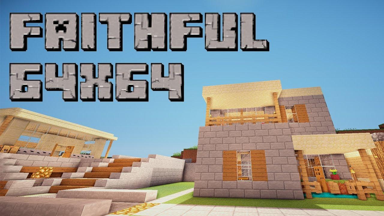 Faithful для minecraft 1.7.10