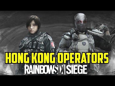 Rainbow Six Siege Hong Kong Operators Spider & Jinrai Operation Blackout Map Underground Fan Made