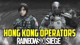 Rainbow Six Siege Hong Kong Operators Spider & Jinrai Operation Blackout Map Underground Fan Made