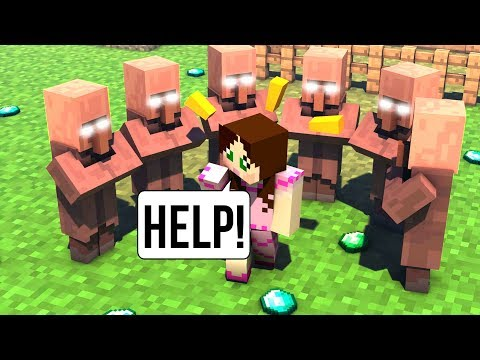 minecraft:-never-trade-with-villagers!!!---villagers-secret---custom-map