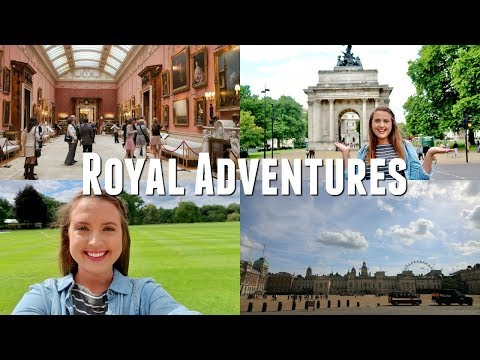 GETTING THE ROYAL TREATMENT! // Inside Buckingham Palace, Royal Mews, & Queens Gallery