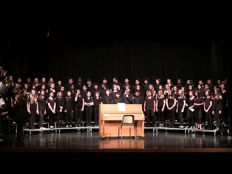 Riverbend Middle School, 7th Grade Chorus, Spring Concert 5/10/2017 in Potomac Falls, Virginia.