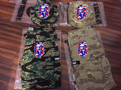 065 Bape Shaolin | Bape | A Bathing Ape | Unboxing | Clothing | Collection | Outfit | Pickup |Review