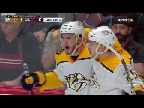 Nashville Predators vs Colorado Avalanche - April 18, 2018 | Game Highlights | NHL 2017/18