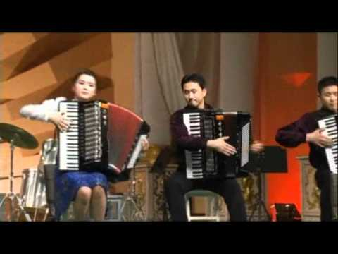 Accordion Group in North Korea Belts Out Hit
