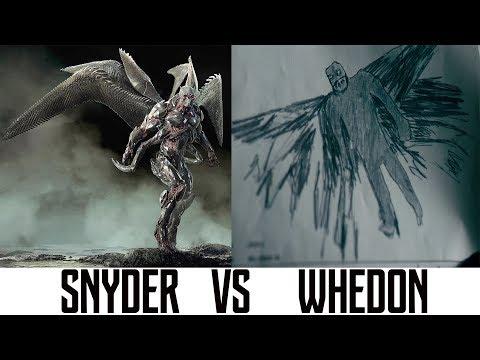 Comparison SNYDER vs WHEDON «JUSTICE LEAGUE» Shooting