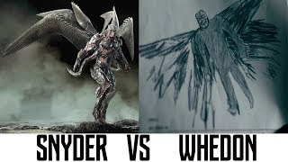 Comparison SNYDER Vs WHEDON «JUSTICE LEAGUE» Shooting