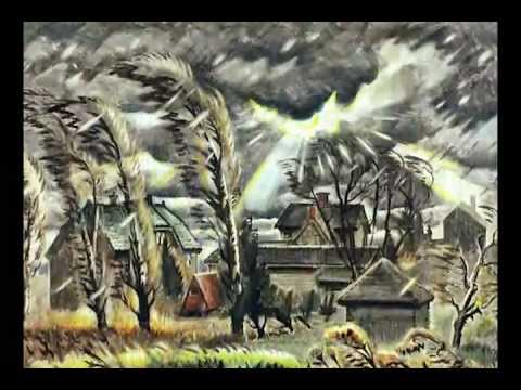 Fear, Hope, And The Sublime In Charles Burchfield's Paintings