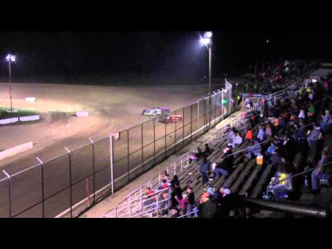 Muskingum County Speedway Late Model Heat #3 8-28-15