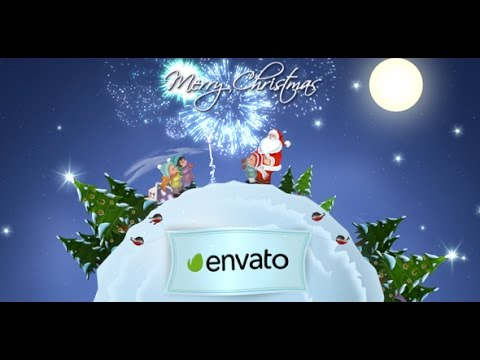 Christmas and New Year Greetings | After Effects template