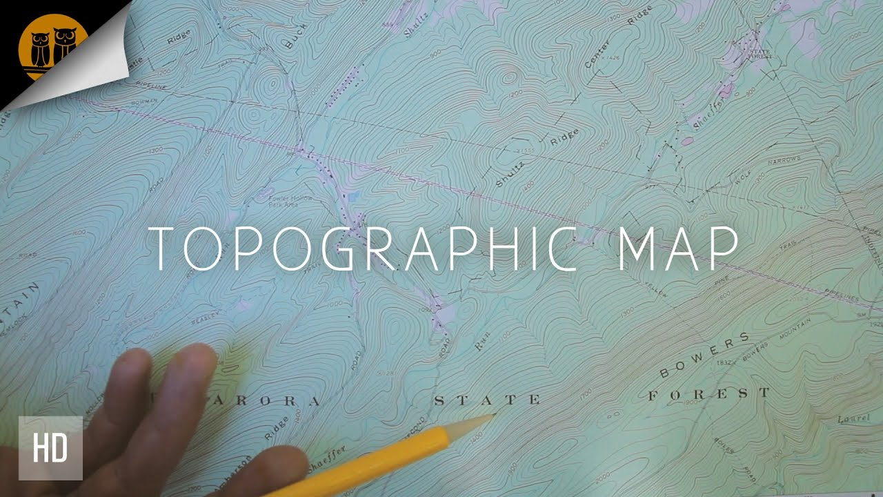 How To Read A Topographic Map Basic Elements
