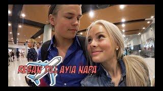 Resan till Ayia Napa + dag 1