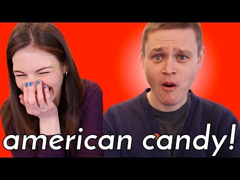 German Tries American Candy (from my childhood!)