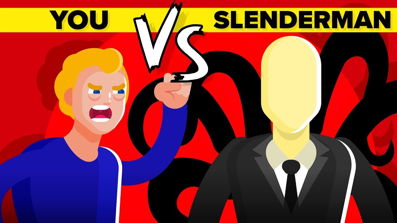YOU vs SLENDERMAN - Can You Survive And Defeat The Imaginary Internet Demon