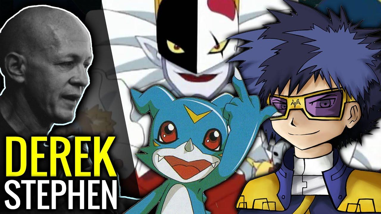 Talking with the Voice of Ken Ichijouji, Piedmon and Veemon! Derek Stephen Prince