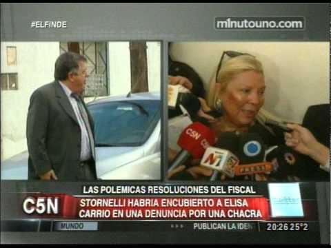 C5N - POLITICA: STORNELLI HABRIA ENCUBIERTO A ELISA CARRIO