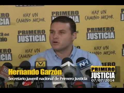Hernando Garzón: En Venezuela el pensar distinto es castigado con la cárcel Videos De Viajes