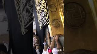 Khana Kaaba door very close view by Ikram Baig