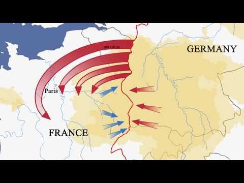 August 1914 - The Battle for France